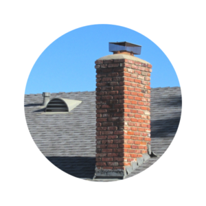 Chimney with spark arrestor